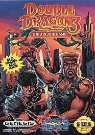 Double Dragon III The Arcade Game Sega Genesis, 1992