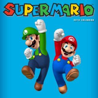 Super Mario Brothers 2012 Wall Calendar by Nintendo 2011, Calendar