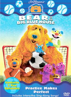 Bear in the Big Blue House   Practice Makes Perfect DVD, 2003