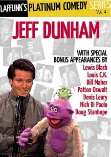 Lafflinks Platinum Comedy Series, Vol. 4 Jeff Dunham DVD, 2010