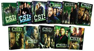 CSI Crime Scene Investigation   Seasons 1 11 DVD, 2011