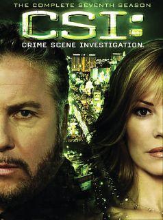 CSI Crime Scene Investigation   The Complete Seventh Season DVD, 2007