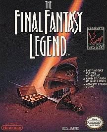 Final Fantasy Legend Nintendo Game Boy, 1990