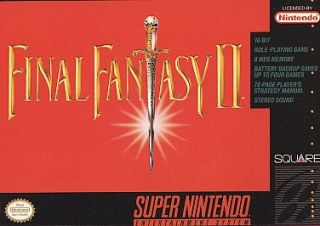 Final Fantasy II Super Nintendo, 1991