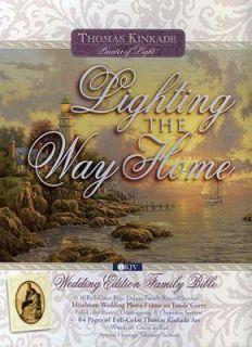 Lighting the Way Home Family Bible Wedding Edition 2002, Hardcover