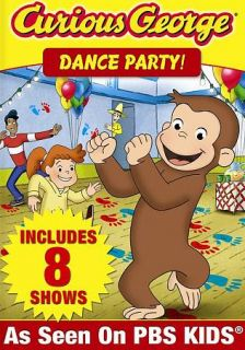 Curious George Dance Party DVD, 2012