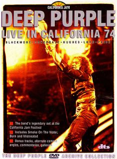 Deep Purple   Live in California 74 DVD, 2006