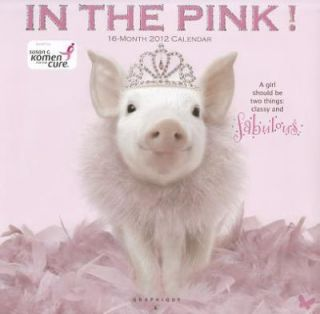 2012 in the Pink Wall Calendar by Graphique de France and Graphique De