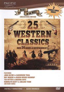 25 Western Classics DVD, 2010, 2 Disc Set