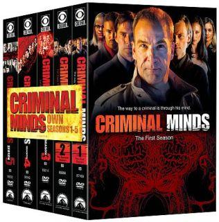 Criminal Minds Seasons 1 5 DVD, 2010, 30 Disc Set