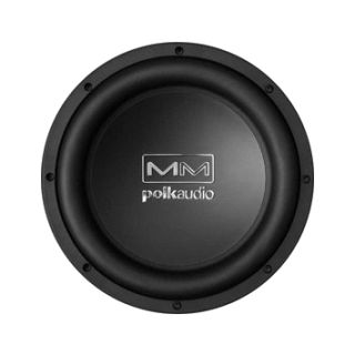 Polk Audio MM1040DVC 1 Way 10 Car Subwoofer