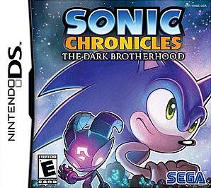 Sonic Chronicles The Dark Brotherhood Nintendo DS, 2008