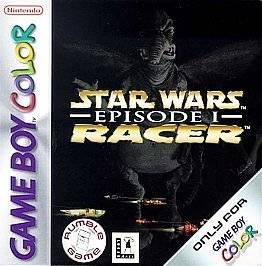 Star Wars Episode I Racer Nintendo Game Boy Color, 1999