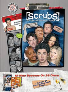 Scrubs The Complete Collection DVD, 2010, 26 Disc Set, Collectible