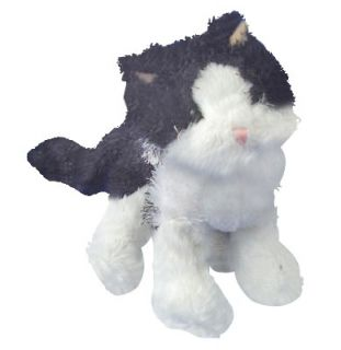 Webkinz Lil Black and White Cat