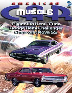 American Muscle Car   Plymouth Hemi Cuda Dodge Hemi Challenger 1968