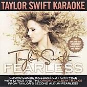 Taylor Swift Fearless Karaoke CD G by Karaoke CD, Jan 2009, 2 Discs