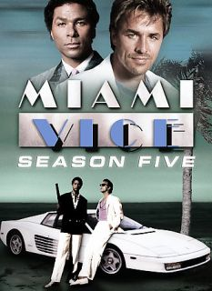 Miami Vice   Season 5 DVD, 2007, 5 Disc Set
