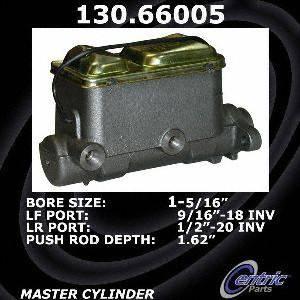 Centric Parts 130.66005 Brake Master Cylinder