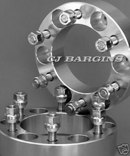 6X5.5  6X139.7MM  12MMX1.25 STUDS  6LUG WHEEL ADAPTERS SPACER