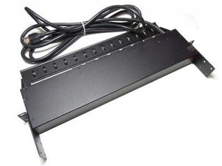 APC 1U Rack Mount PDU 8 Outlets Power Switch AP7900