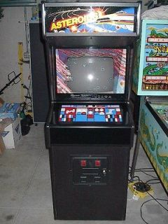 1979 ATARI ASTEROIDS COIN OP ARCADE VIDEO GAME MACHINE ALL ORIGINAL