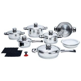stainless steel cookware in Cookware