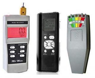 Mel 8470 K2 EMF Meters & EVP Digital Voice Recorder New