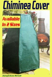 Heavy Duty Plastic Chiminea Patio Heater Cover Protector Storage Large