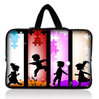 Children 9.7 10 10.1 Laptop Netbook Sleeve Bag Case Cover With Hide