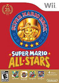 Nintendo Wii Super Mario All Stars Limited Edition Complete Excellent