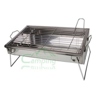 Outdoor Portable Stainless Steel BBQ Stove Grill