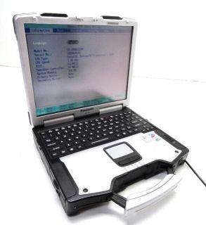 Panasonic ToughBook CF 29 Laptop  1.40GHz Pentium M  768mb PC 2700