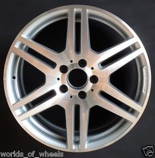 AMG E350 E550 18 6 Double Spoke Factory OEM Wheel Rim H# 85131