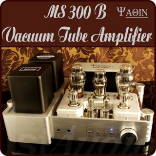 Power Amplifier YAQIN MS 300C 300B x 2 Vacuum Stereo Hi end Tube