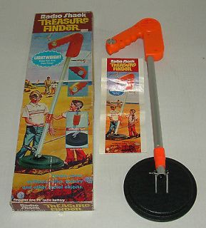 Shack Treasure Finder Metal Detector Toy w/ Box & Instructions LN