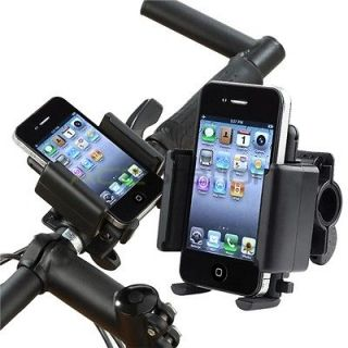 Black Bicycle Bike Handle Phone Mount Holder For Samsung Cell Phone
