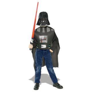 Darth Vader Costume Accessory Kit Star Wars Kids + Lightsaber Dress Up