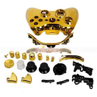 gold xbox 360 controller in Controllers & Attachments