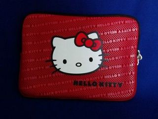 Hello Kitty Notebook/PC Sleeve, Half Zip, NEW