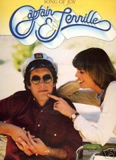 CAPTAIN & and TENNILLE SONG OF JOY OLD LP VINYL RECORD ALBUM Music