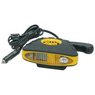 Volt DC Auto Heater Defroster with Light ELECTRIC PORTABLE CAR HEATER