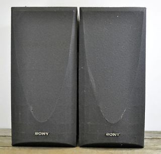 Vintage Sony SS AV33 Speakers Surround Sound 120W Home Theater
