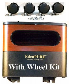 2012 NEW EdenPURE GEN 2 W/ Wheel Kit Infrared Heater 5000 BTU Heats