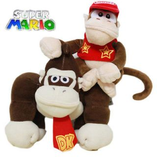 Nintendo Super Mario Souvenirs Diddy Donkey Kong 2 Plush Stuffed