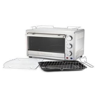 Wolfgang Puck Convection Oven 22 Liter Bake, Broil and Toast and