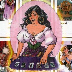 FORTUNE TELLING GYPSY CARTOMANCY CARD DECK   FREE SHIPP