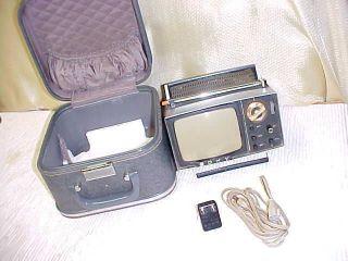 Sonys Original Mini Portable Transistor TV With CaseModel 5 303W
