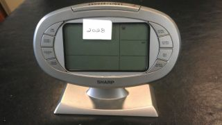 Sharp Atomic Weather Station Alarm Clock SPC315