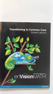 Envision math Transitioning to Common Core Student lessons Grade 4